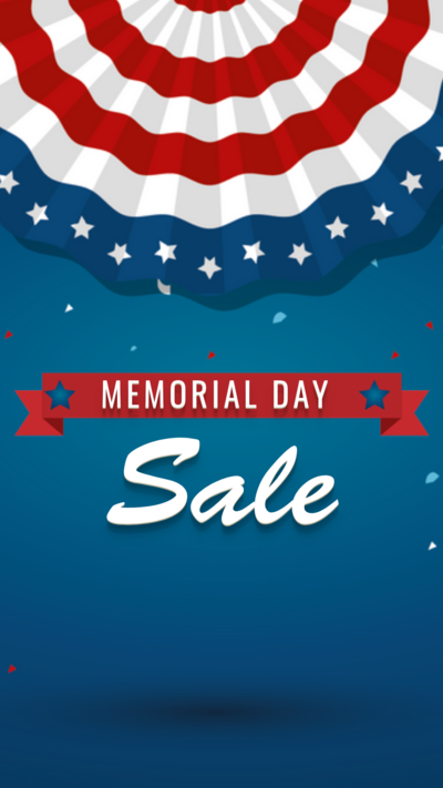 Memorial Day Sale on Digital Signage